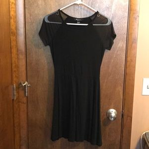 LBD with Mesh Sleaves
